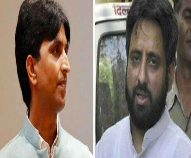 अमानतुल्लाह बोले- कुमार के डोभाल व RSS से हैं रिश्ते, पार्टी ने लिया खान से इस्तीफा