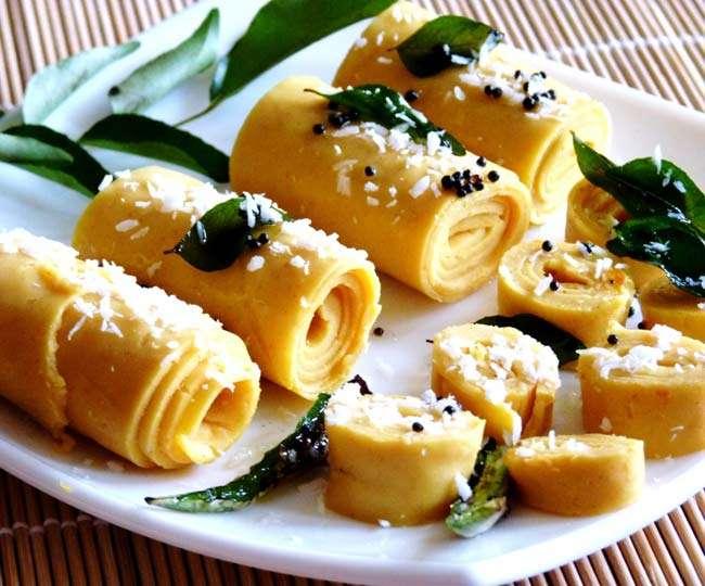 चलिए बनायें गुजराती नाश्ता खांडवी