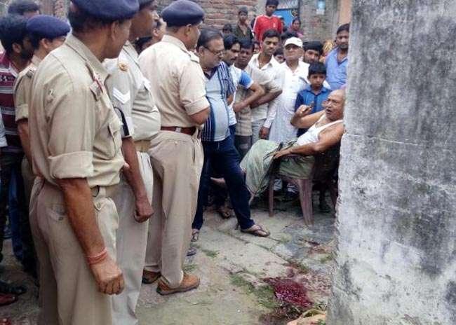 मुजफ्फरपुर में बेखौफ अपराधियों ने ठेकेदार को एके-47 से भूना