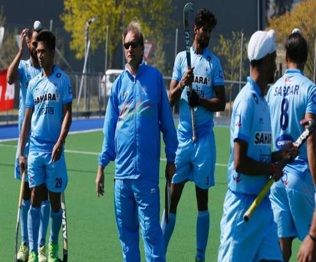 भारतीय हॉकी टीम की इस कमज़ोरी से चिंतित हैं कोच ओल्टमैंस