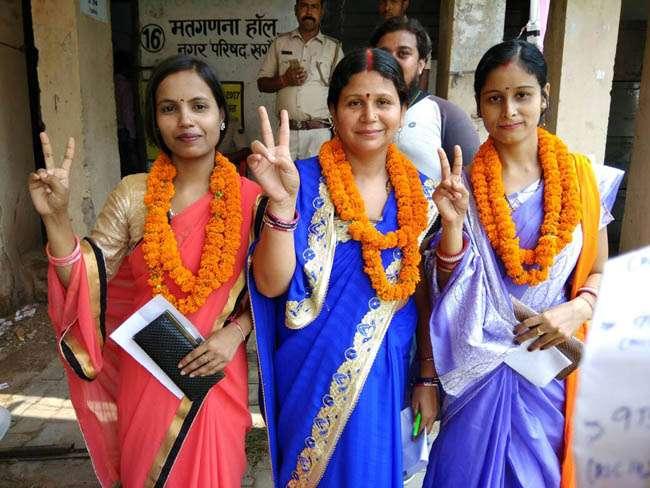 पटना नगर निगम मतगणना, कहीं खुशी तो कहीं गम का माहौल
