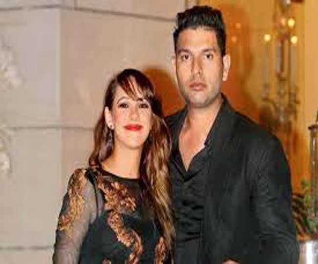 भारतीय क्रिकेटरों को लंदन में मिला पत्नियों का साथ, अनुष्का नहीं दिखी विराट के साथ