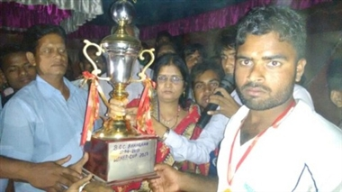 मीरगंज को हरा रुपौली ने जीता कप