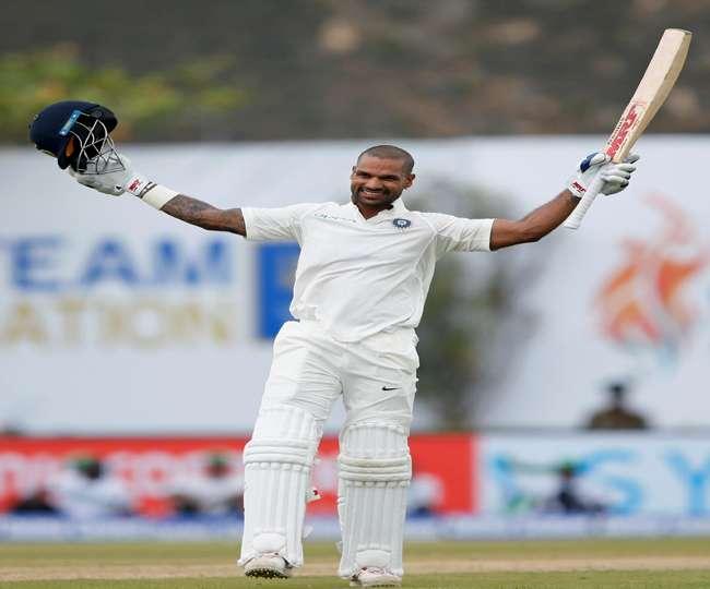 श्रीलंका के खिलाफ फिर गरजा 'गब्बर' का बल्ला, निकल गए सबसे आगे