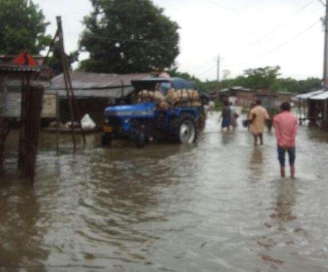 बिहार में बाढ़ की स्थिति भयावह, बचाव में उतरी सेना, सीएम बनाये हुए हैं नजर