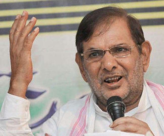 शरद से JDU की दो टूक, जरा भी शर्म बची है तो दें राज्यसभा से इस्तीफा
