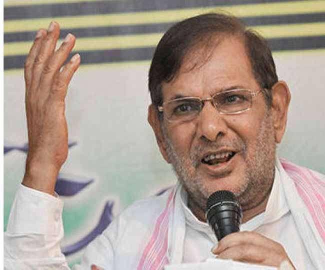 राज्यसभा में जदयू के नेता पद से हटाए गए शरद यादव