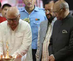 तस्वीरों में देखें-यूपी में राष्ट्रपति रामनाथ कोविंद का अभिनंदन