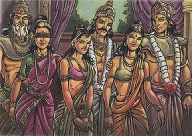 इस तरह हुआ धृतराष्ट्र, पाण्डु और विदुर का जन्म व इनके विवाह