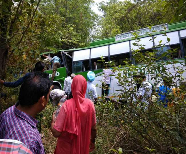 Bus Accident In Himachal Pradesh