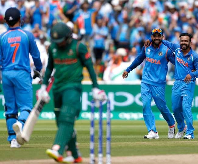 बिना बल्ला पकड़े ही एमएस धौनी ने ऐसे दिलाई टीम इंडिया को जीत