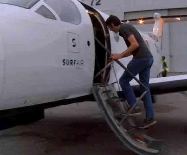 महंगी कार से नहीं हवाई जहाज से रोज ऑफिस जाता है यह आदमी