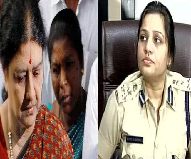 शशिकला वीआईपी ट्रीटमेंट मामला: डीआईजी रूपा ने दूसरी रिपोर्ट में लगाया ये आरोप