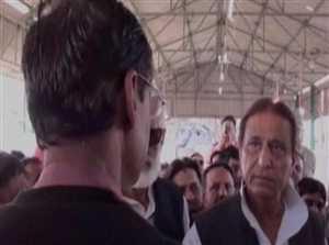 देखिए आजम खान ने एसडीएम को कैसे धमकाया