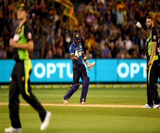 श्रीलंका ने पहले टी 20 मैच में ऑस्ट्रेलिया को चित किया
