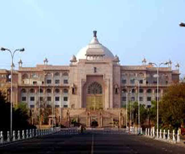 राजस्थान विधानसभा में भी गूंजे 'जयश्री राम' के नारे