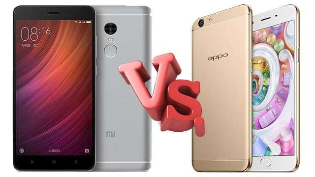 शाओमी Redmi Note 4 बनाम ओप्पो F1s, बढ़िया कीमत और फीचर्स के साथ जानें कौन सा फोन है बेहतर