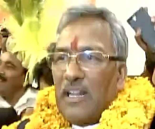 त्रिवेंद्र सिंह रावत होंगे उत्तराखंड के अगले सीएम, आज लेंंगे शपथ