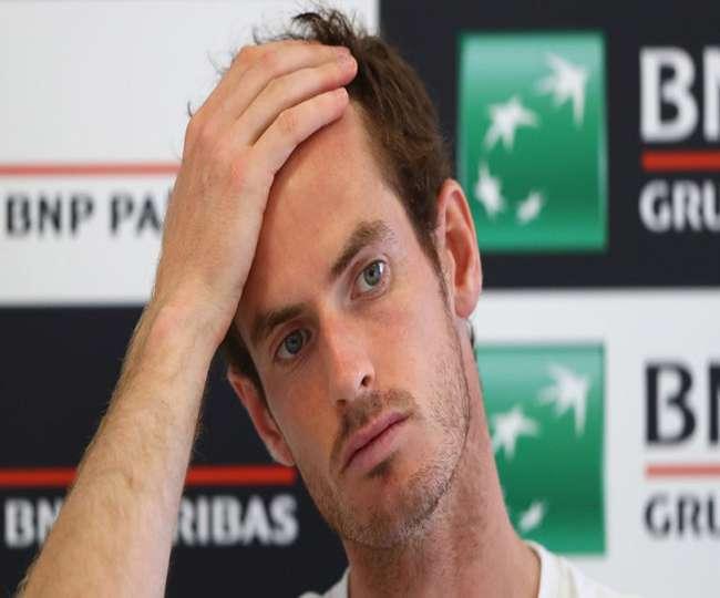 टेनिस: रोम मास्टर्स के दूसरे दौर में उलटफेर का शिकार हुए एंडी मरे