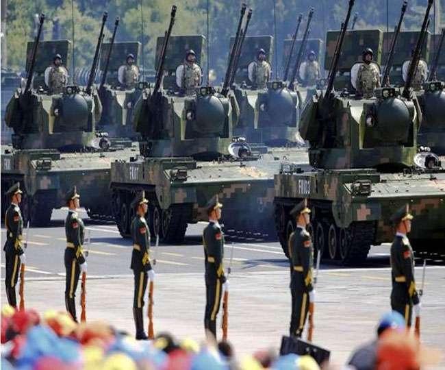 डोकलाम पर तनातनी के बीच चीन ने किया सैन्य अभ्यास