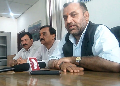 कांग्रेस राज में विकास में पिछड़ा पालमपुर : प्रवीण