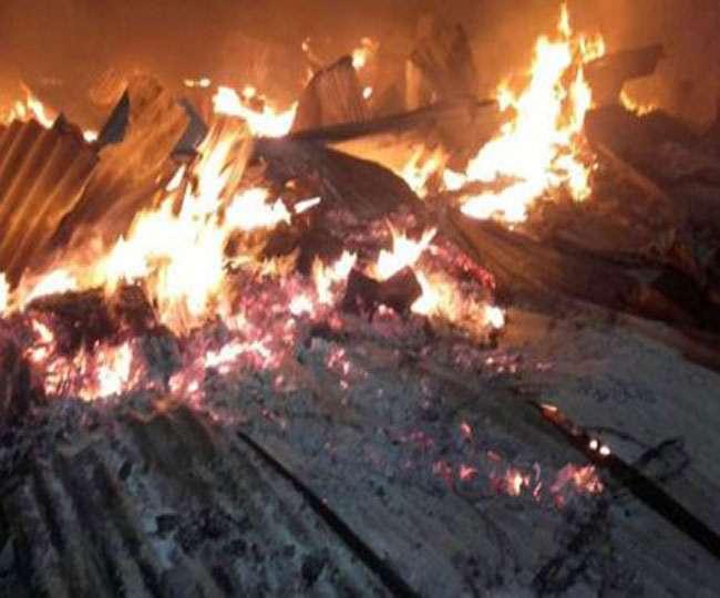 अगलगी में जले 80 घर, लाखों की संपत्ति का नुकसान