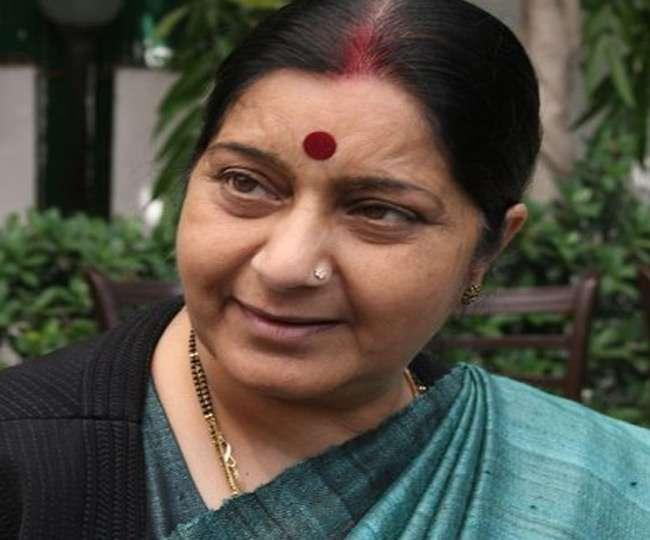 अगवा सूफी मौलवी पाक में सुरक्षित, सोमवार को आएंगे भारत: सुषमा स्वराज