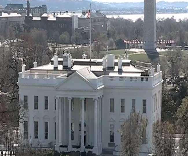 एक आदमी की गिरफ्तारी के बाद व्हाइट हाउस की सुरक्षा बढ़ाई