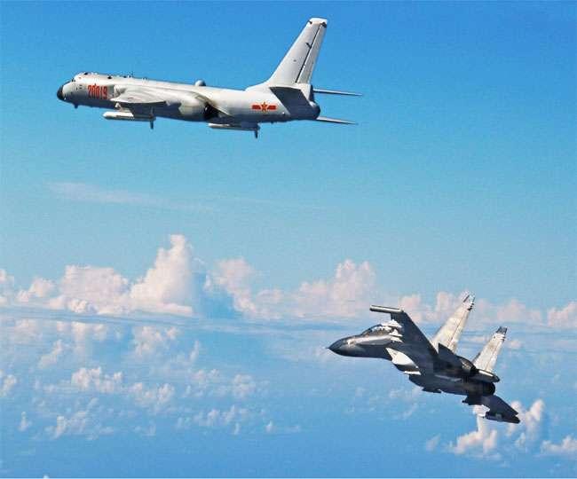 चीनी लड़ाकू विमानों ने अमेरिकी विमान का रास्ता रोका,बढ़ी तनातनी