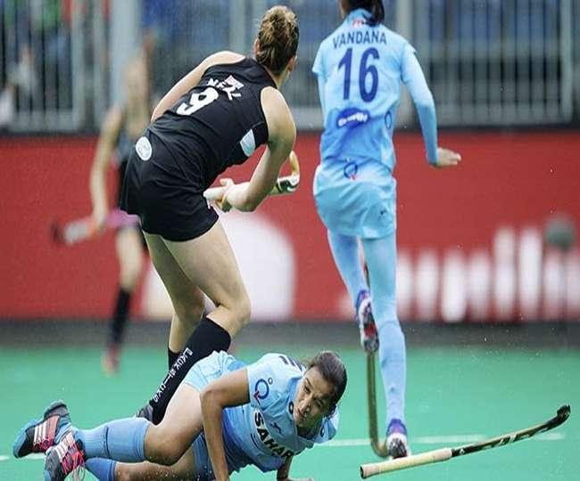 महिला हॉकी: न्यूजीलैंड के हाथों चौथे मैच में भी हारी भारतीय टीम, 3-0 से मिली शिकस्त
