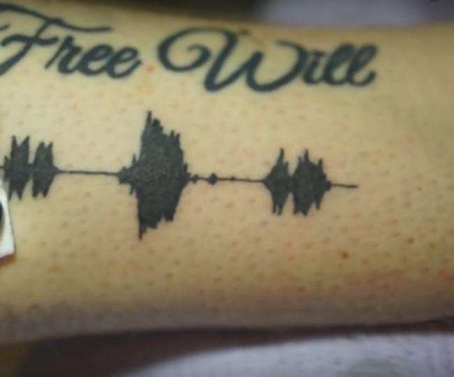 बनवाएंगे! बोलने वाला टैटू, आइए सुनते हैं हाथ पर बने टैटू की आवाज