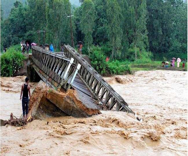 मणिपुर में मूसलधार बारिश के कारण तबाही, सरकार ने शुरू किया राहत कैंप