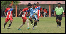 प्रदेशीय फुटबाल प्रतियोगिता में वाराणसी चैम्पियन