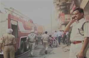 इंदौर : पटाखा दुकान में आग से 5 की मौत, 3 घायल