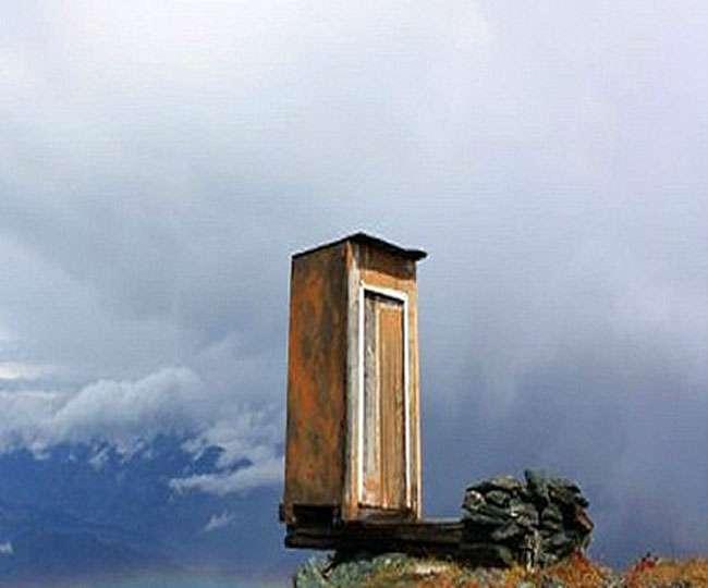 हवा में 8, 500 फीट की ऊंचाई पर यहां है दुनिया का सबसे खतरनाक टॉयलेट