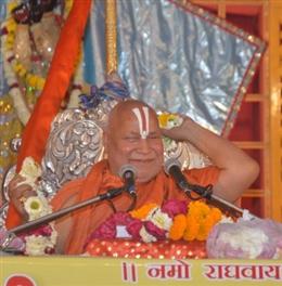6 दिसंबर तक राम मंदिर तैयार: स्वामी रामभद्राचार्य