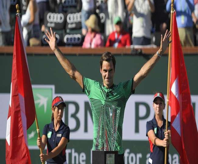 रोजर फेडरर ने 5वीं बार जीता इंडियन वेल्स का खिताब, फाइनल में वावरिंका को दी मात