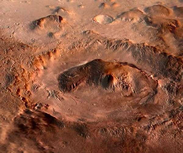 मंगल पर दिखे अनोखे क्रेटर