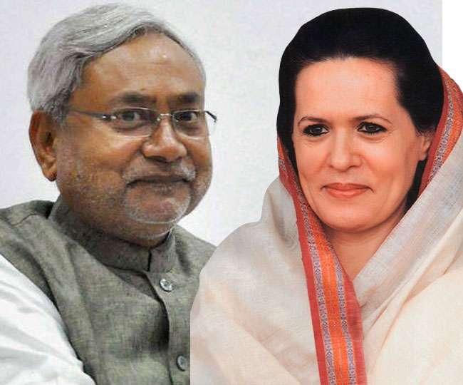 सोनिया गांधी से मिले नीतीश कुमार, गरमाई बिहार की राजनीति