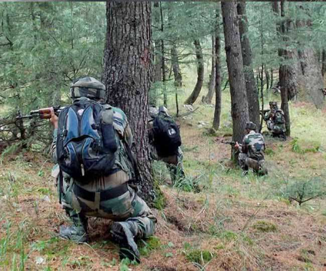 कुपवाड़ा: मुठभेड़ में सेना ने मार गिराए चार आतंकी, तीन जवान हुए शहीद