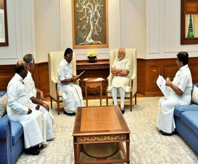 पनीरसेल्वम ने भाजपा के साथ गठबंधन की अटकलों को लेकर किया ट्वीट