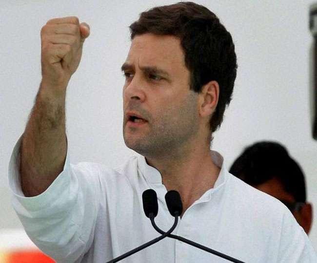 कांग्रेस को उम्मीद राहुल गांधी की 'प्रजा गर्जन' रैली में पहुंचेंगे एक लाख लोग