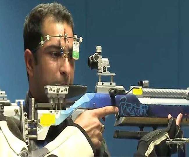 निशानेबाजी विश्व कप में पांचवें स्थान पर रहे भारतीय रवि कुमार
