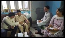 कवि को चार से नहीं मिल रही पेंशन, मंत्री ने की मुलाकात
