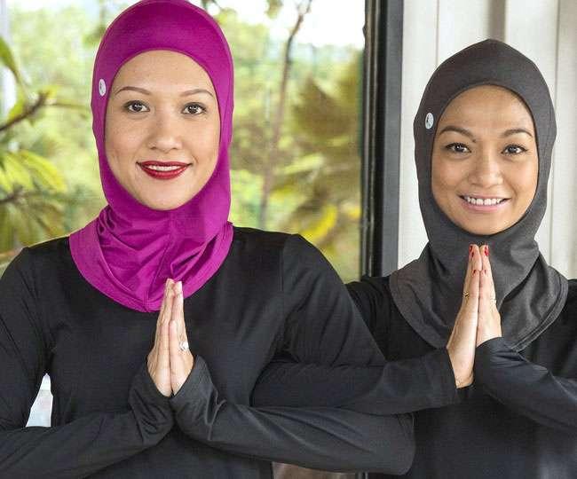 योग की अलख जगा रहे मुस्लिम भाई-बहन