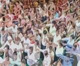 सत्याग्रहः लक्ष्मण मेला मैदान पर शिक्षामित्रों का अनिश्चिकालीन आंदोलन