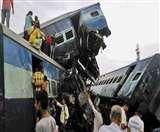 उत्कल एक्सप्रेस ट्रेन हादसा: जागे प्रभु, आठ रेलकर्मियों पर गिरी गाज