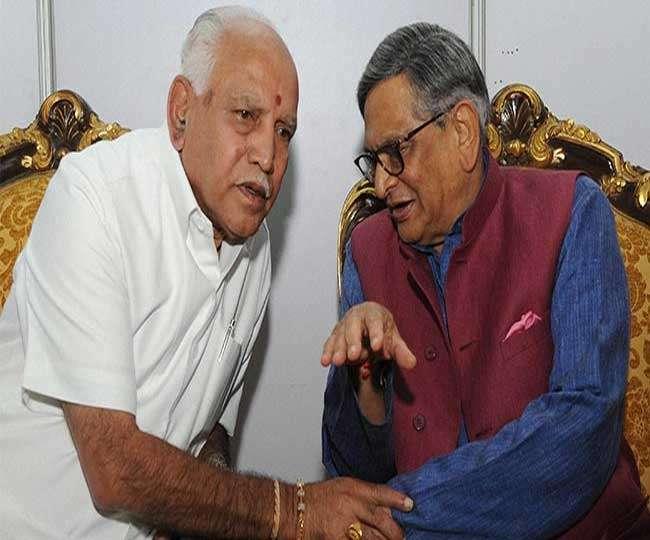 कर्नाटक विस चुनाव: पूर्व विदेश मंत्री एस एम कृष्णा कल भाजपा में होंगे शामिल