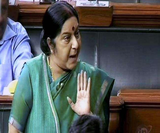 भारतीयों के खिलाफ किसी भी प्रकार के अपराध हुए तो चुप नहीं बैठेंगे: स्वराज