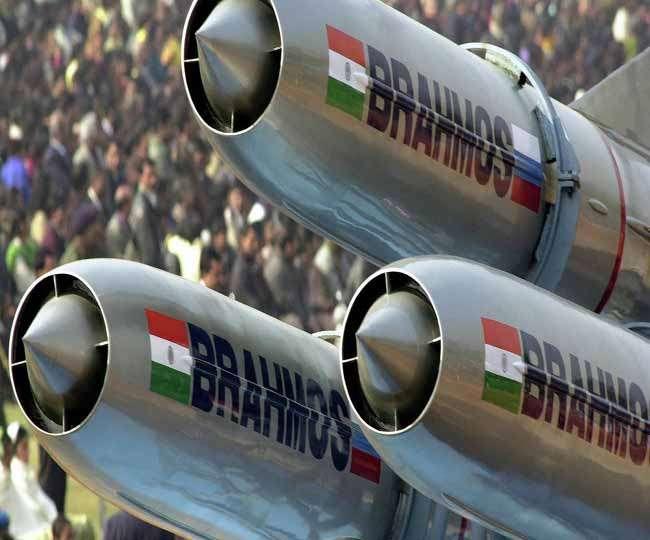 जमीन पर मार करने वाली ब्रह्मोस सुपरसोनिक मिसाइल का परीक्षण सफल
